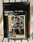 """Don Mattingly Signed Topps """"Project 2020"""" Oldmanalan Card #139 Yankees"""