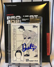 """Don Mattingly Signed Topps """"Project 2020"""" Fucci Card #155 Yankees"""