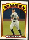 "2021 Topps Heritage #121 AARON JUDGE ""Action Image Variation"" Yankees"
