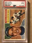 1956 Topps Baseball #113 Phil Rizzuto New York Yankees HOF PSA 2 Good