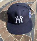 Vintage New York Yankees 1996 World Series Snapback Hat Annco Pro Model