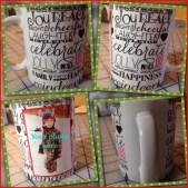 christmas words mug