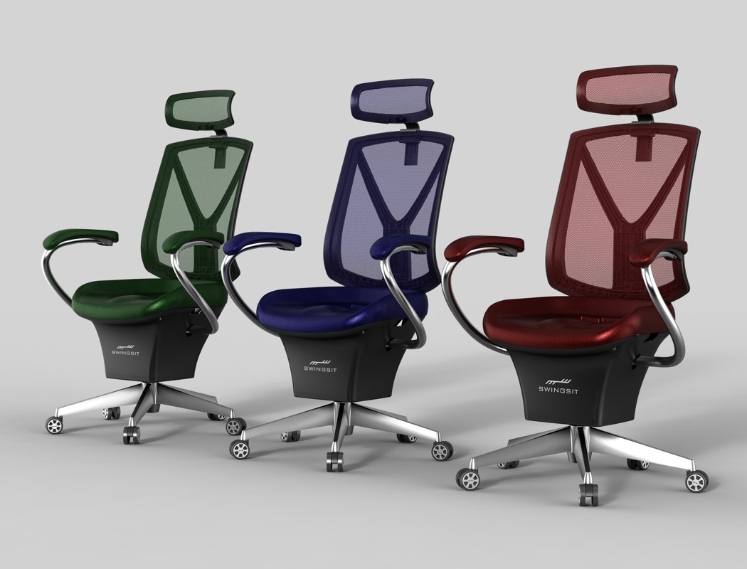 Active Sitting Chair Forget The Fidget Spinner Here S A Fidget Chair Yanko Design