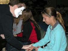 Yankton Benedictines Confirmation Retreat Masks