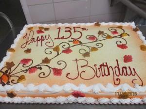 135th Birthday cake 001