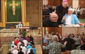 Bishop Paul J. Swain Visit