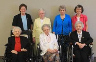 Diamond Jubilarian Celebration Anniversary Sisters Prioress Sacred Heart Monastery Yankton Benedictines