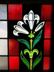 stained-glass-lily-yankton-benedictines-sacred-heart-monastery-sisters-nuns-copy