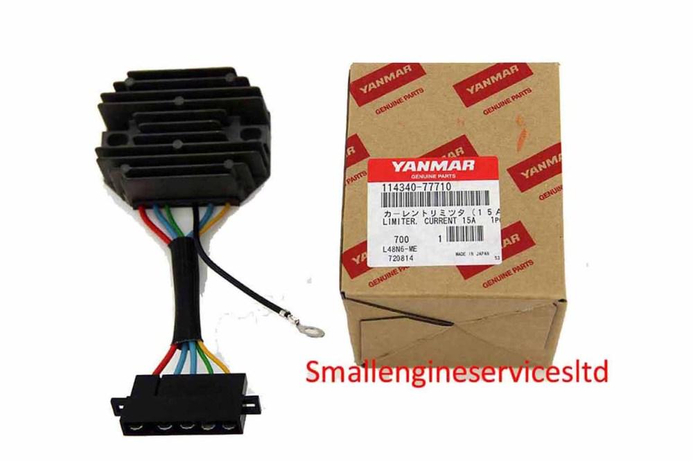 medium resolution of genuine yanmar regulator for yanmar l100 n5 n6 l70 n5 n6 l48 n5 n6