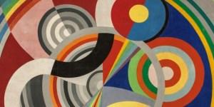 Illustration : Rythme n°1 de Robert Delaunay