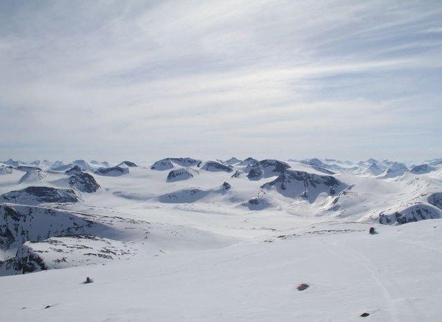 Ski-rando dans le Jötunheimen
