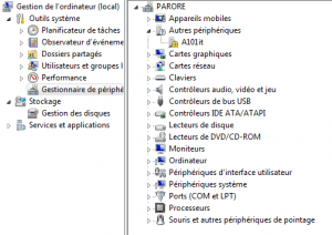Device Manager Window