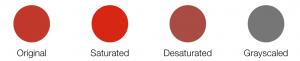 dynamiccolor-saturateddesaturatedgrayscale