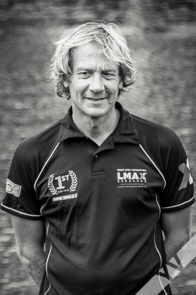 Olivier Cardin, skipper of LMAX Exchange