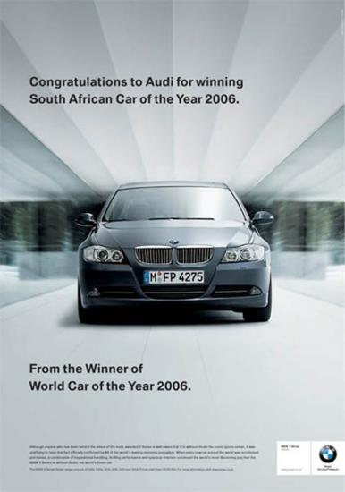 Advertisement war within the automotive industry (2006) (1/5)