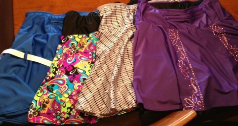 Sparkle Skirts!