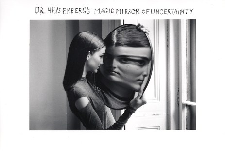 Duane Michals Dr. Heisenberg's Magic Mirror of Uncertainty, 1998 a