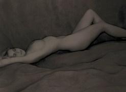 Vicky reclining