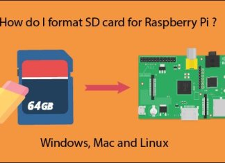 format SD card for Raspberry Pi