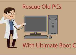 Windows recovery disk ultimate boot cd
