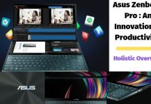 asus zenbook pro duo comprehensive overview