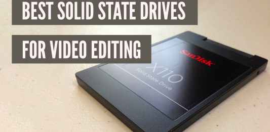 best SSDs for video editing