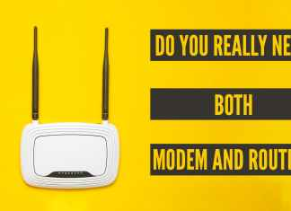 do you need both router and modem
