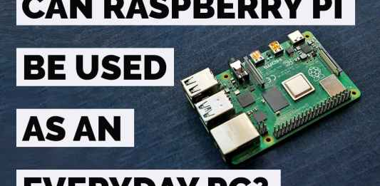 can raspberry pi be used as a general purpose computer