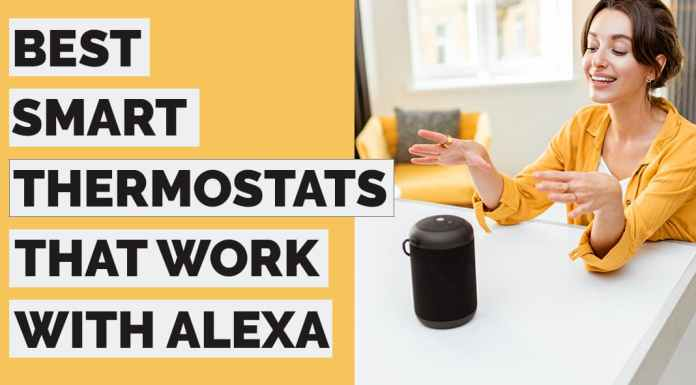 thermostats that work with alexa