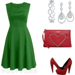 романтический стиль в ярких цветах