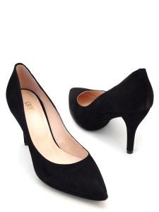 серные туфли-лодочки