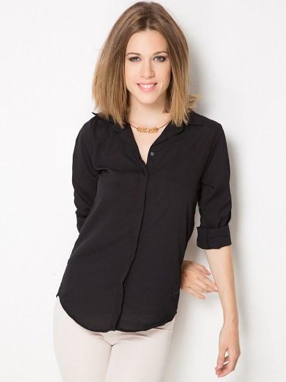 какая блузка подойдет для прямого типа фигуры