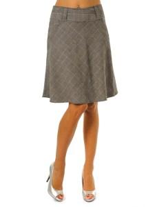юбка для полупрямого типа фигуры
