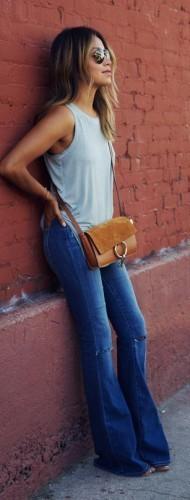 модные джинсы весной 2016