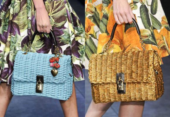плетенная сумка сетчер