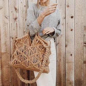 хит лета 2016 плетенные сумочки
