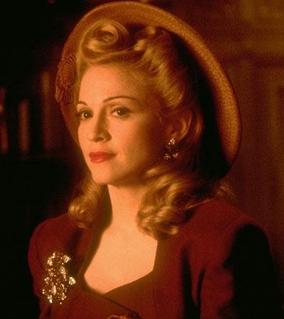 Мадонна в роли Эвиты Перон