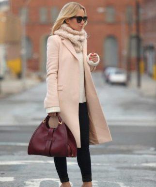 осенние образы с пальто