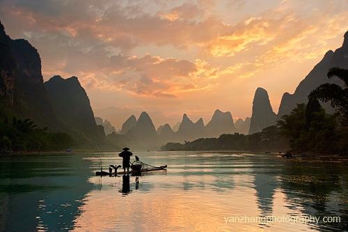 chinese landscapes yan zhang
