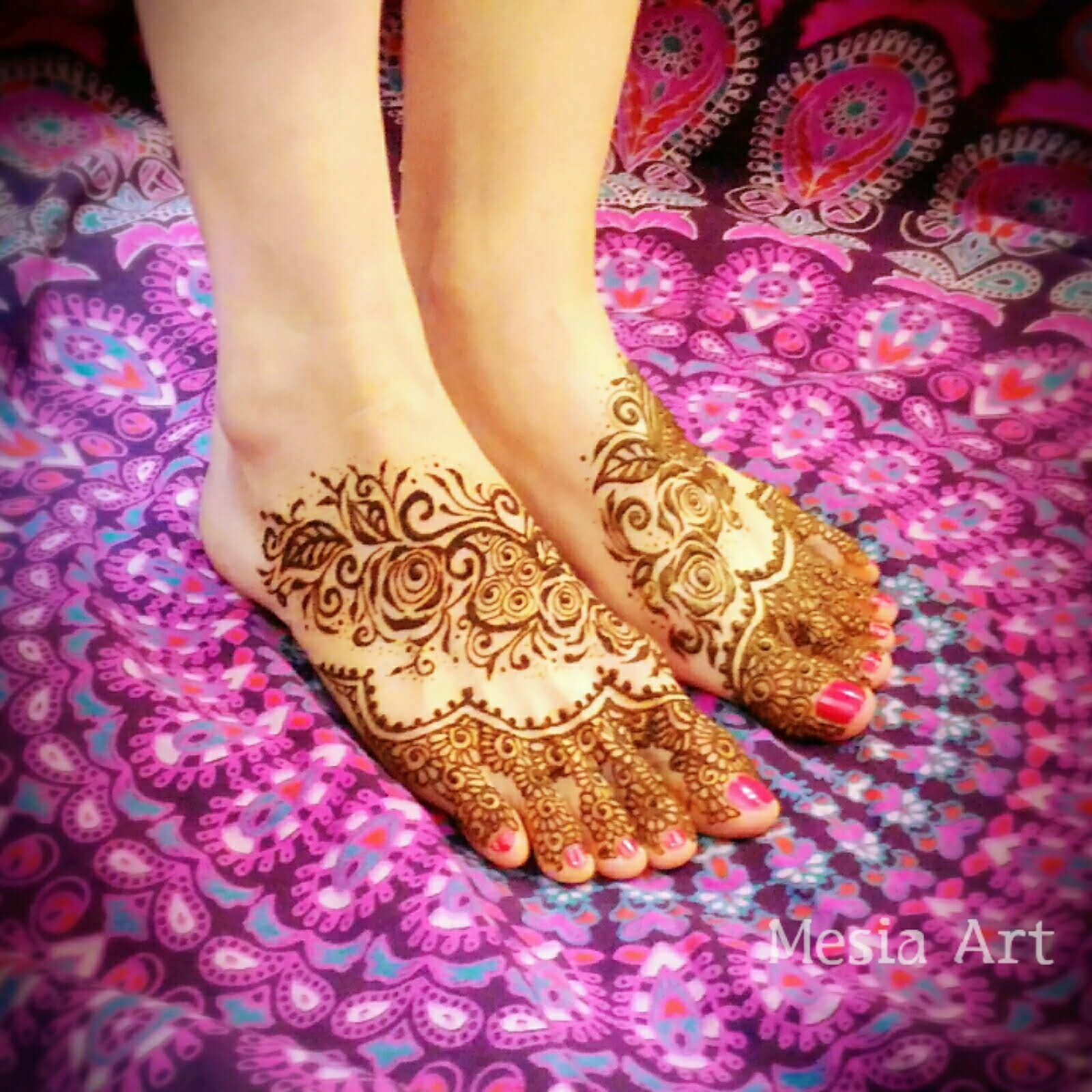 漫談Henna印度彩繪-指甲花身體彩繪的圖騰意義 | YaoIndia 就是要印度