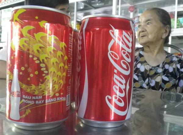 ベトナムのコカコーラ