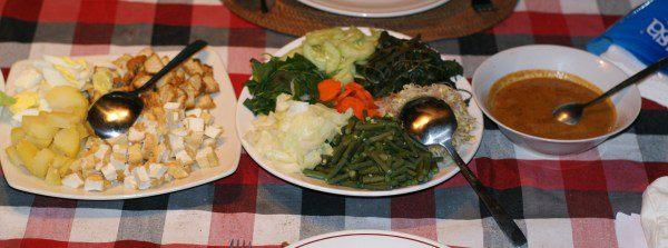 インドネシアのサラダ、ガドガド