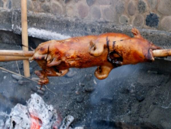 バリ風豚の丸焼