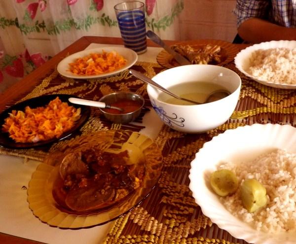 マダガスカルの定食