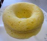 電子レンジでつくる簡単ケーキ(蒸しパン)