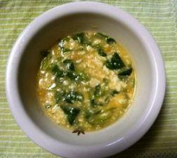 130123抜き菜コーンスープ