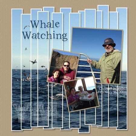 Whale Watching by Yapha Mason