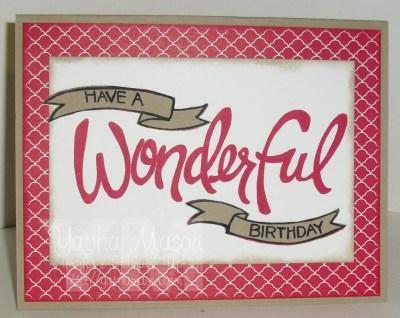 Wonderful Birthday by Yapha