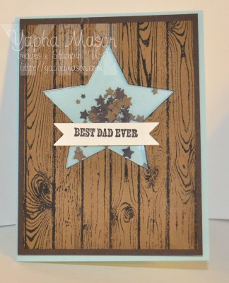 Father's Day Shaker Card by Yapha