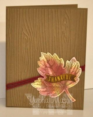 Fall Leaf by Yapha